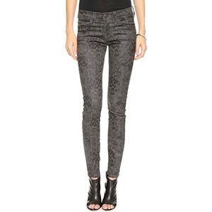 Current/Elliott Snake Print Ankle Skinny Pants 27